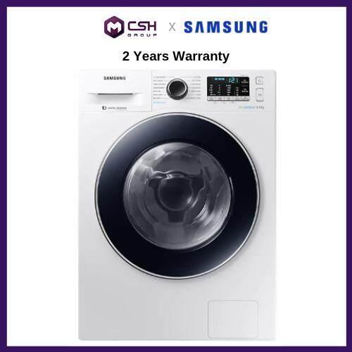 Samsung Front Load Washer with Digital Inverter 8kg WW80J54E0BW/FQ