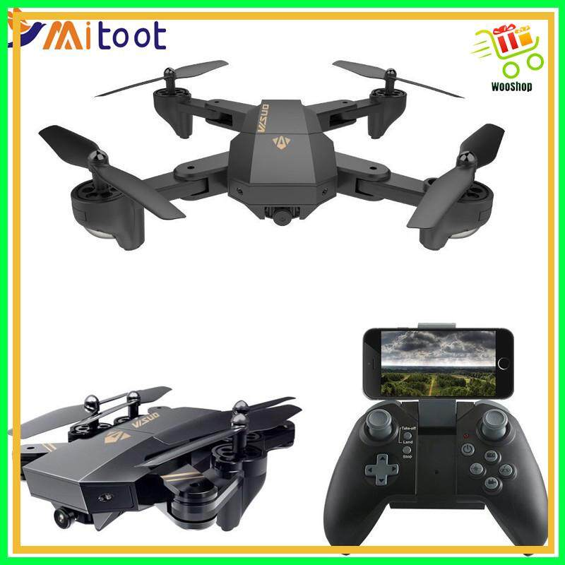 XS809HW XS809W Wifi FPV Drone With 0.3MP 2MP HD Camera Altitude Hold Quadcopter - WITH 0.3MP CAMERA / WITH 2MP HD CAMERA Toys for boys