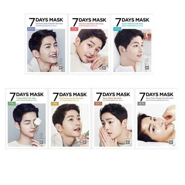 Forencos 7 days mask Song Joong Ki (7pcs)