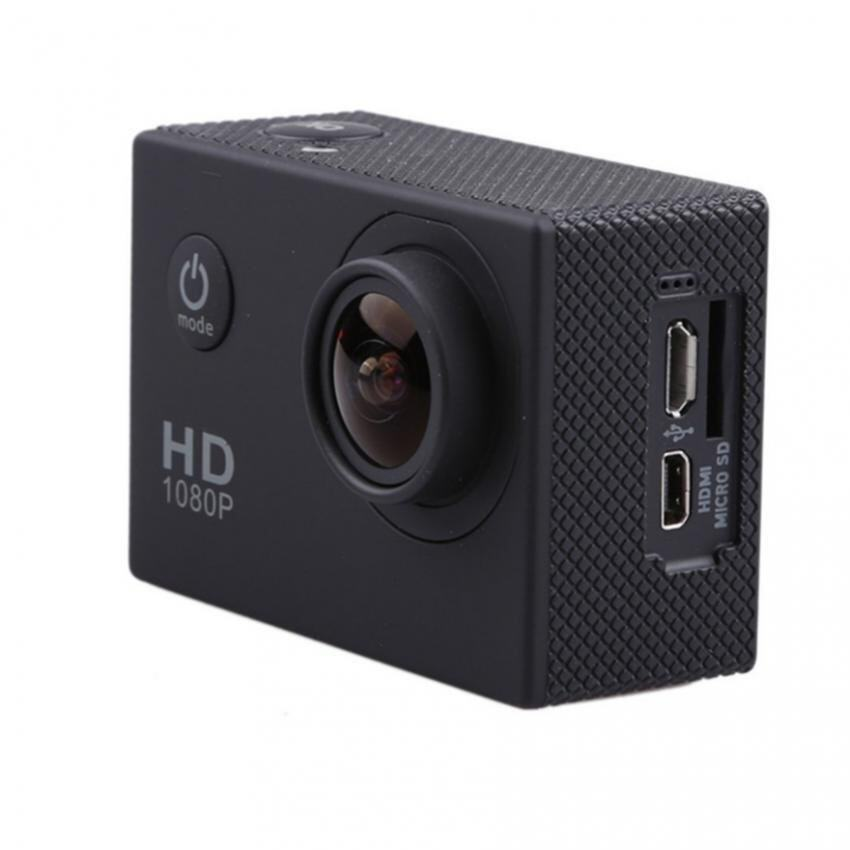 HD 1080p H.264 Waterproof Action Camera Camcorder With Wifi 2 inch Screen (Black)