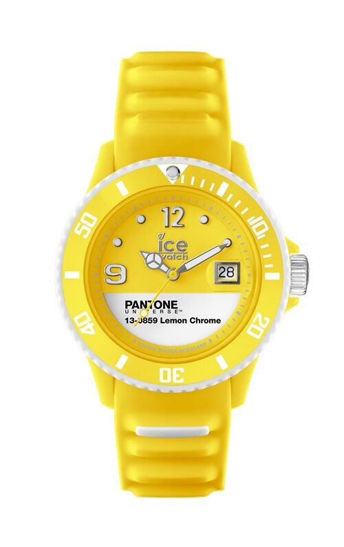 Ice Watch Pantone Unisex (Lemon Chrome)