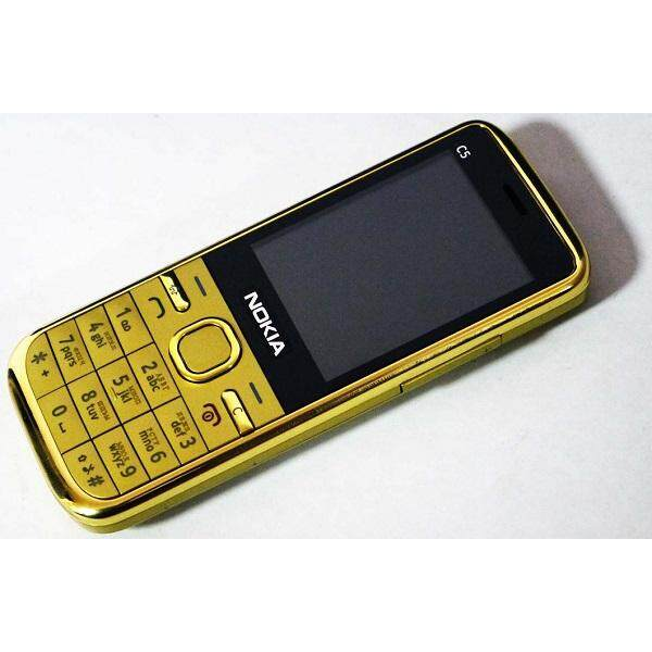 imported nokia c5 gold