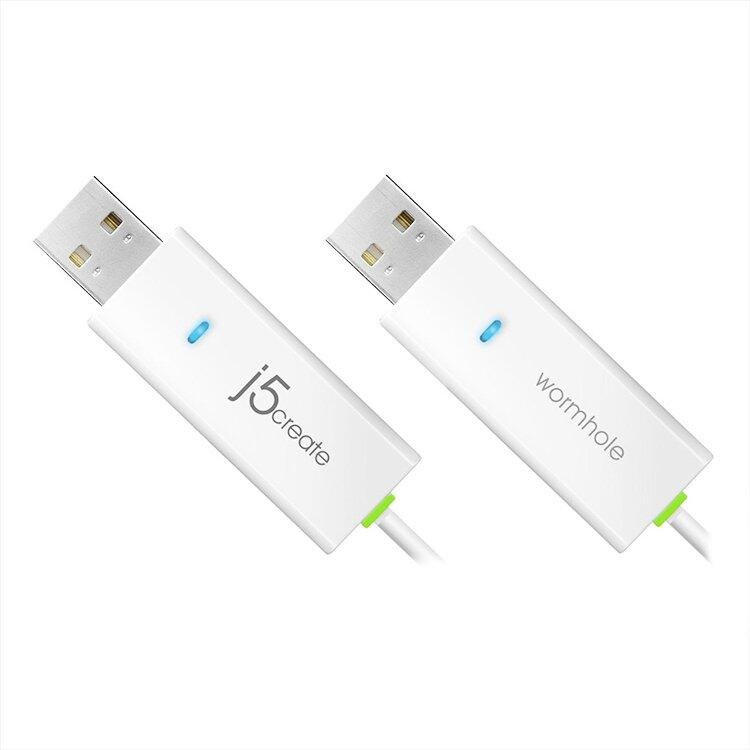 J5 Create JUC100-WHT USB Transfer Cable (White)