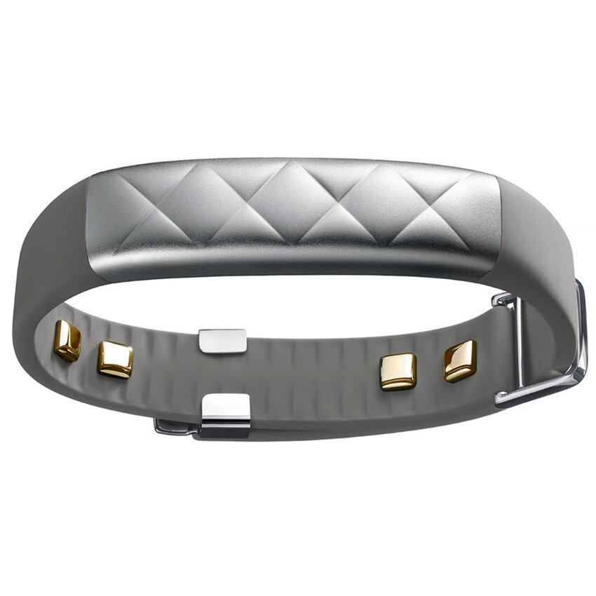 Jawbone UP3 Activity Tracker Fitness Wristband (Silver Cross)