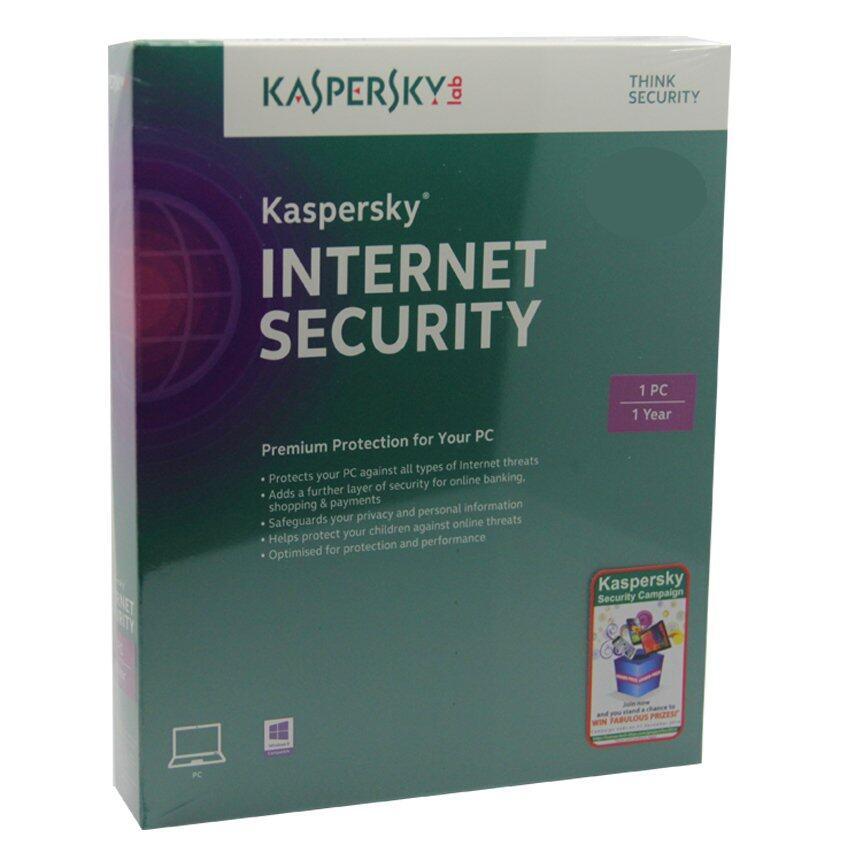 Kaspersky Internet Security 2015 (1 User)
