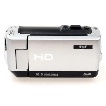 KEEP HD Digital Camcorder Camera Coolmore 55 (Black)—Free 8GB Card (51243)