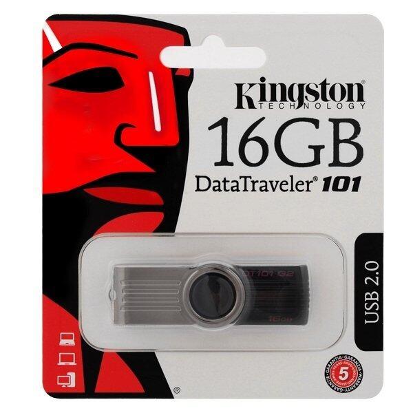 Kingston DT101G2 16GB Flash Drive (Black)