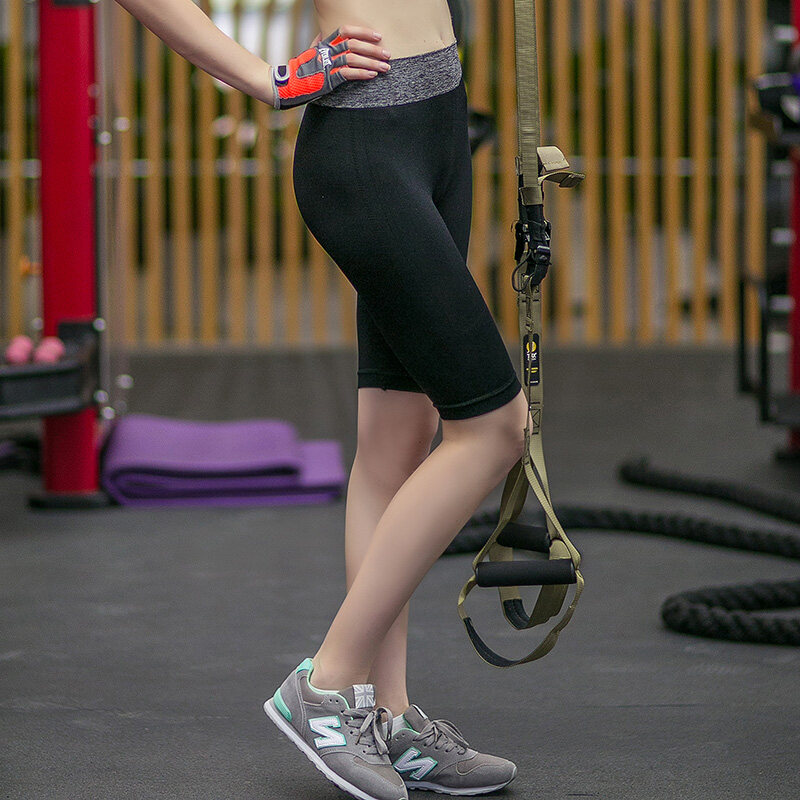 Knee Length Quick Dry Sport Yoga Short Pant