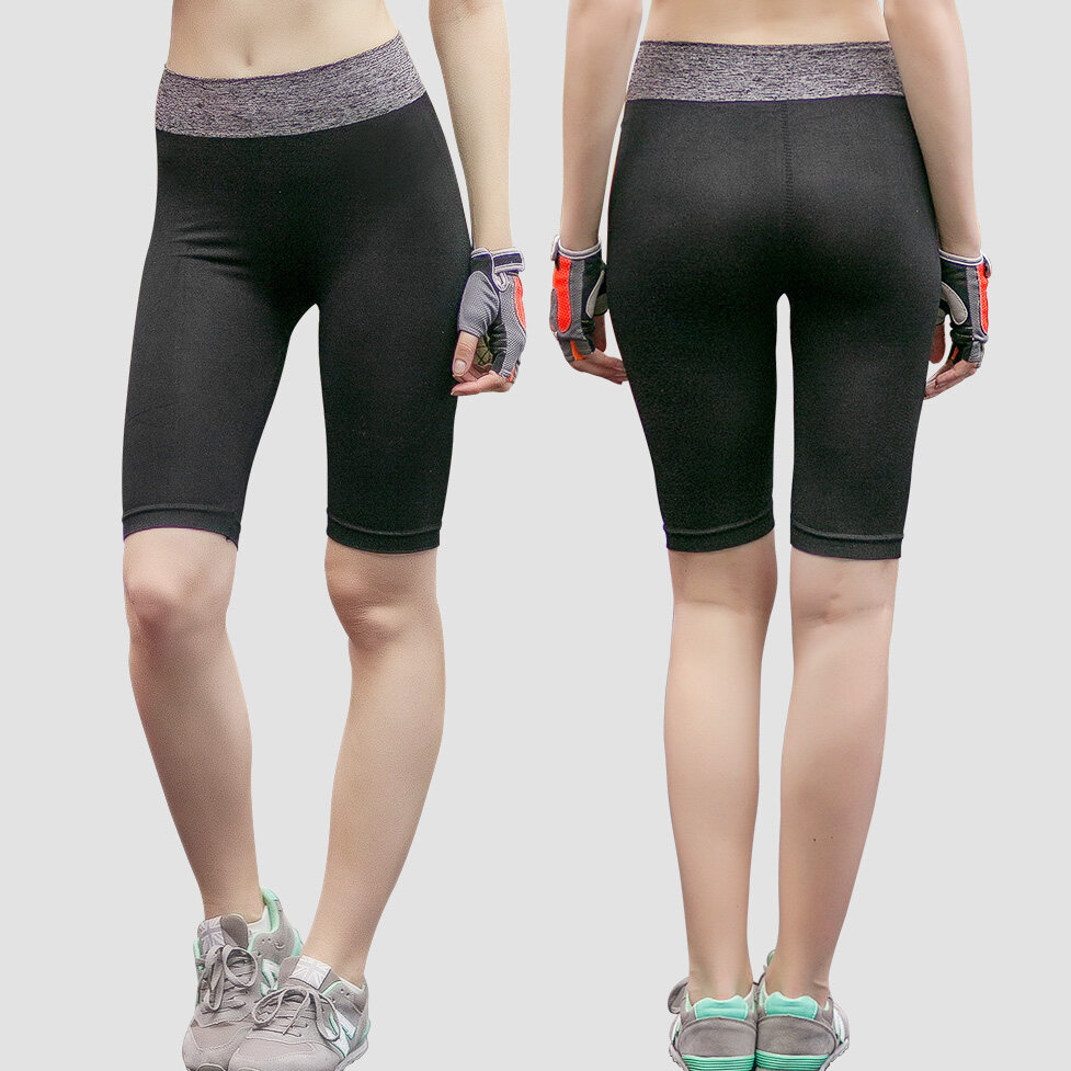 Knee Length Quick Dry Sport Yoga Short Pant