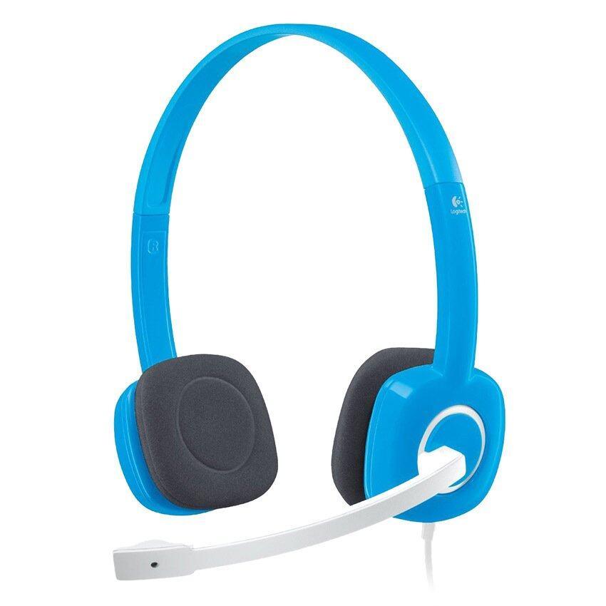 Logitech H150 Stereo Headset (Sky Blue)