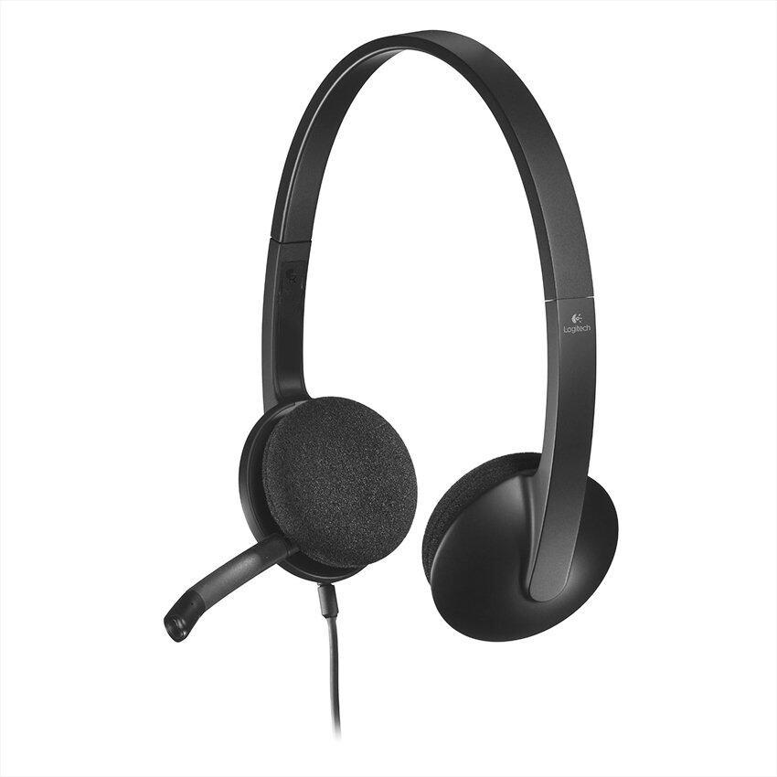 Logitech H390 USB Headset (Black)