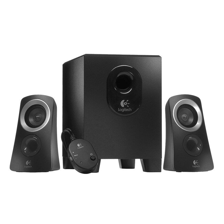 Logitech Z313 Multimedia Speaker (Black)