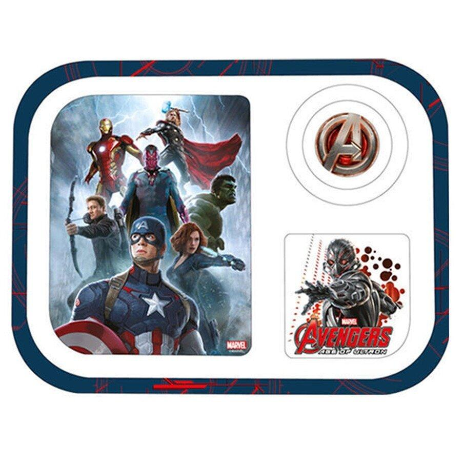 Marvel Avengers Age Of Ultron Divided Plate
