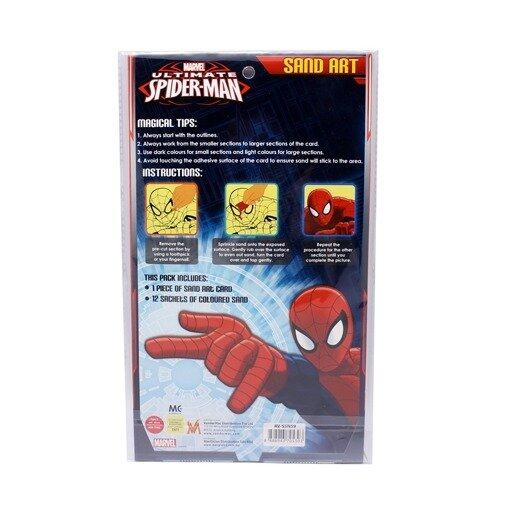 Marvel Avengers Assemble And Spiderman Sand Art - Multicolour