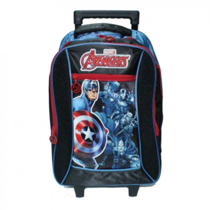 Marvel Avengers School Trolley Bag 16 Inches - Captain America