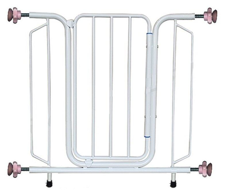 Mas Baby Safety Gate With Steel Support Leg Fit 96.5 to 109 Cm BEST BUY!