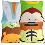 Maylee 4pcs Cute Animals Multicolour Pillow Cases