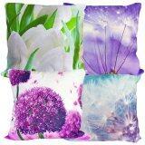 Maylee 4pcs Multicolour Pillow Cases (Flower)