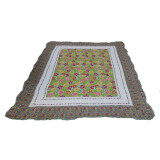 Maylee Ct Flower Cotton Carpet - Yellow