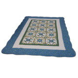 Maylee Ct Morden Cotton Carpet - Blue