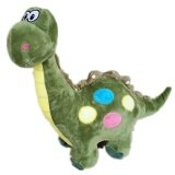 Maylee Cute Plush Dinosaur 34cm (Green) toys for girls