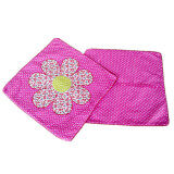 Maylee Patchwork Pillow Cases Set of 2 (Pink)