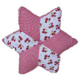 Maylee Patchwork Pillow (Pink)
