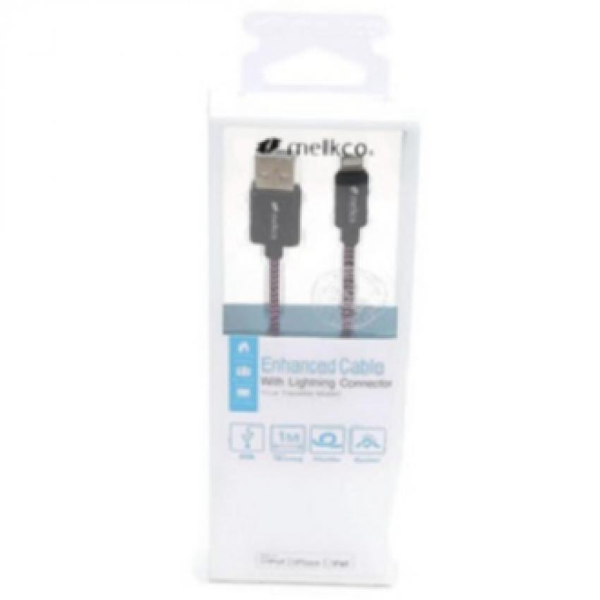 Melkco Mkgflcwebe Gofove Enhanced Lighting Cable For Le Iphone Ipad Ipod White And Blue