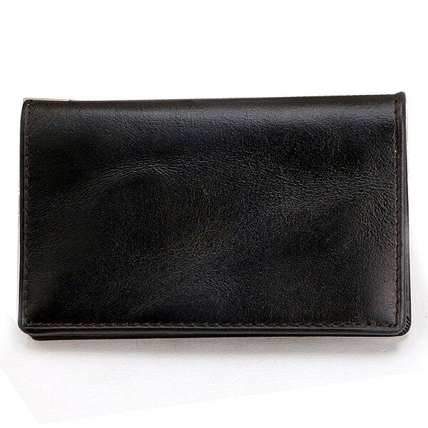 Men's Genuine leather Small Card Wallet Holder