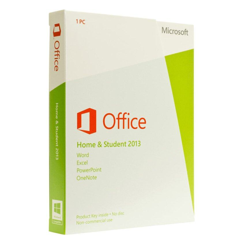 Microsoft Office 2013 Home & Student For 1 User