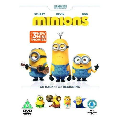 Minions Go Back To The Beginning - DVD