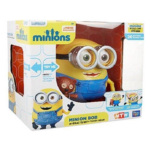Official Universal Studios Minions Talking Bob