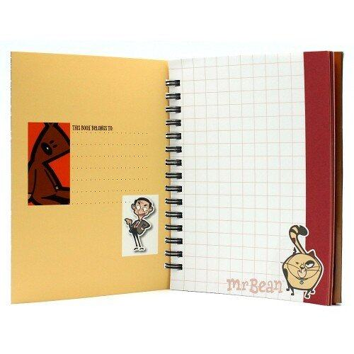 Mr.Bean A6 WireO Note Book Set