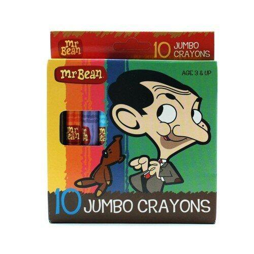 Mr.Bean Jumbo Crayon (10pcs)