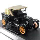 NewRay 1:32 Die-cast 1925 Ford Model T Pick Up Classic Car Black Color Model Collection Christmas New Gift