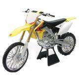 NewRay 1:6 Die-cast 2010 Suzuki RM-450 Motorcycle Yellow Color Model Collection Christmas New Gift