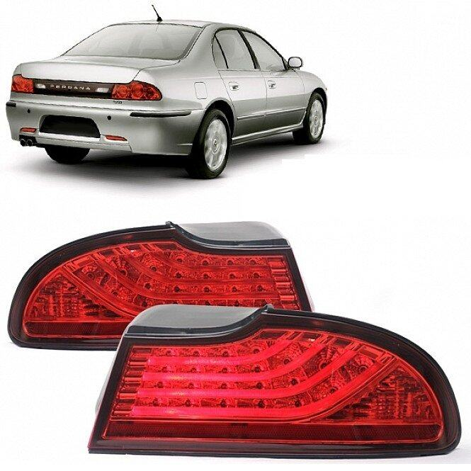 OEM Perdana Lightbar Tail Lamp - Red