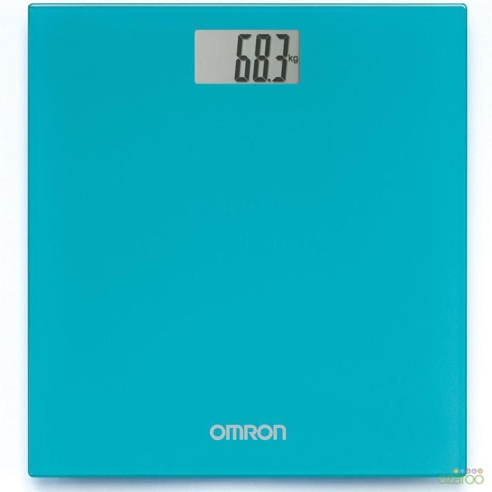 (Original) Omron Digital Body Weighing Weight Scale HN289 (WARRANTY 1 YEAR) Ocean Blue
