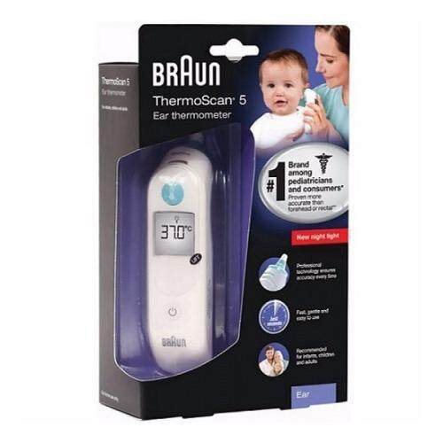 (Original) Braun ThermoScan 5 IRT 6030 Ear Thermometer + 21ea Lens filters (1 year warranty)