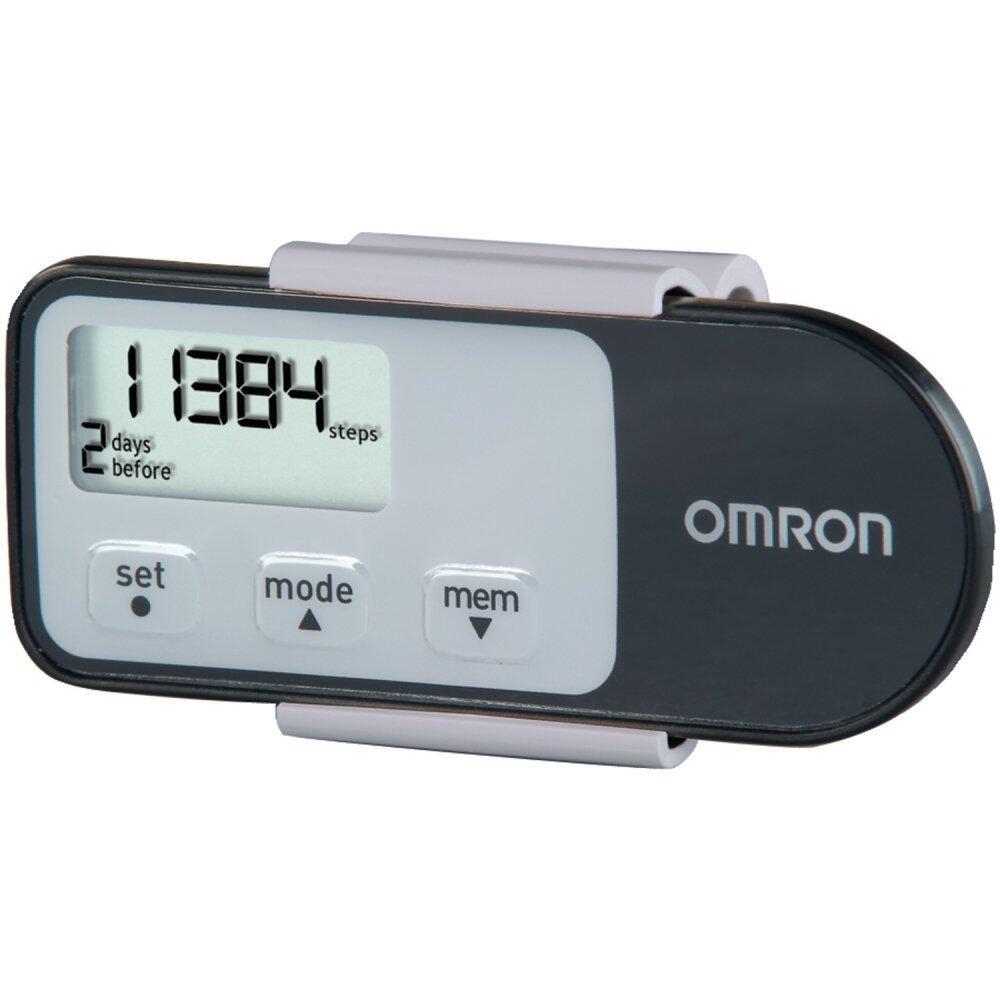 (Original) Omron HJ-321 Tri-Axis Pedometer Black (Warranty 1 Year)
