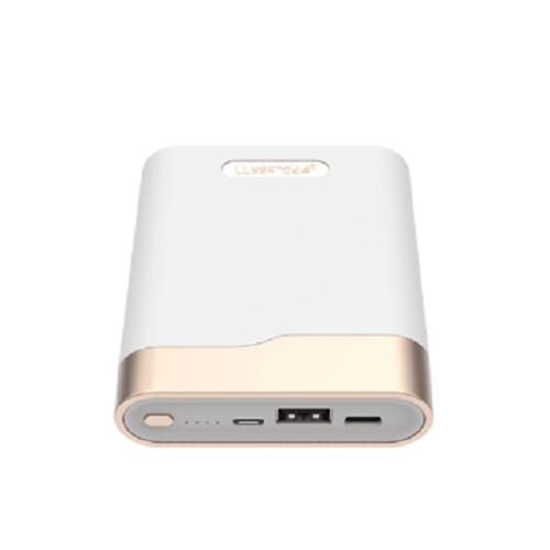 (ORIGINAL) Polybatt True Type C Power Bank 10400mAh - White