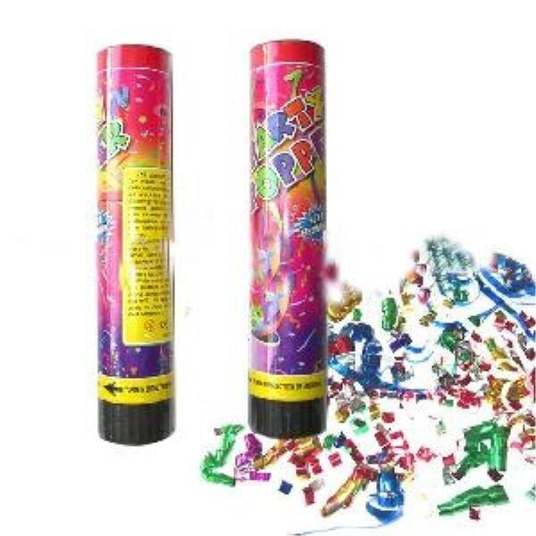 PARTY POPPER PARTY BUSTER BIRTHDAY POPPERS MARRIAGE POPPER FUNCTION (Set of 3)