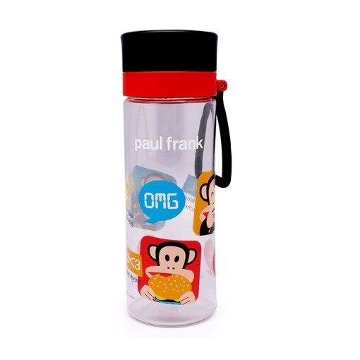 Paul Frank 550ML Water Bottle - Black Colour