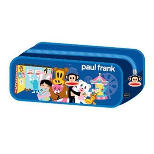 Paul Frank Square Pencil Pouch - Blue Colour