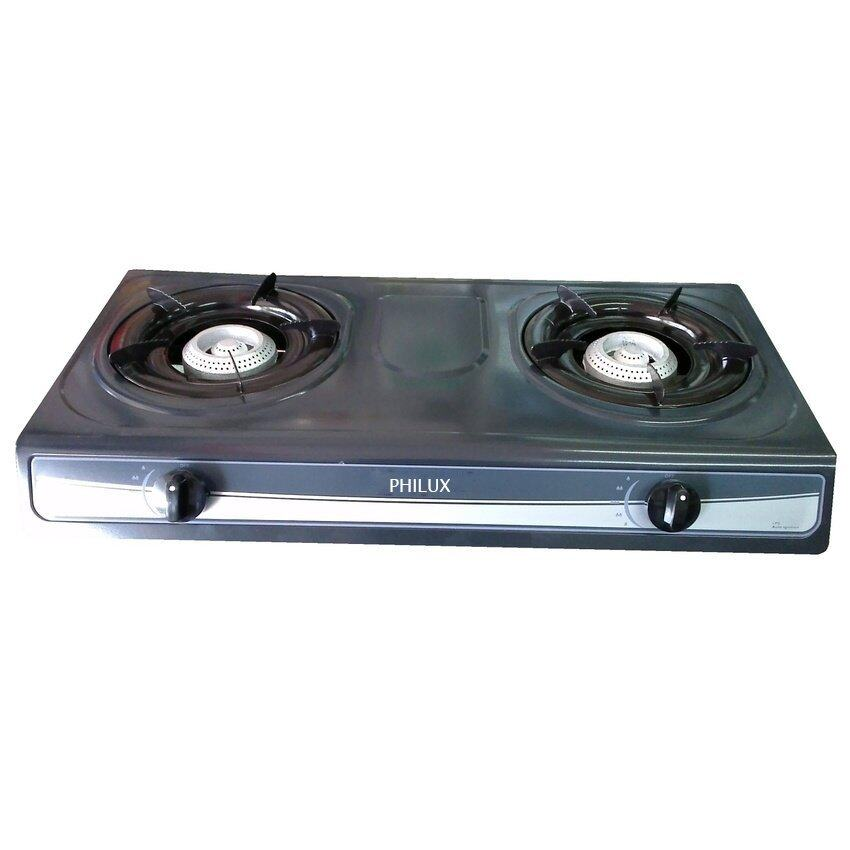 Philux PH-228SS Stainless Steel Double Burner
