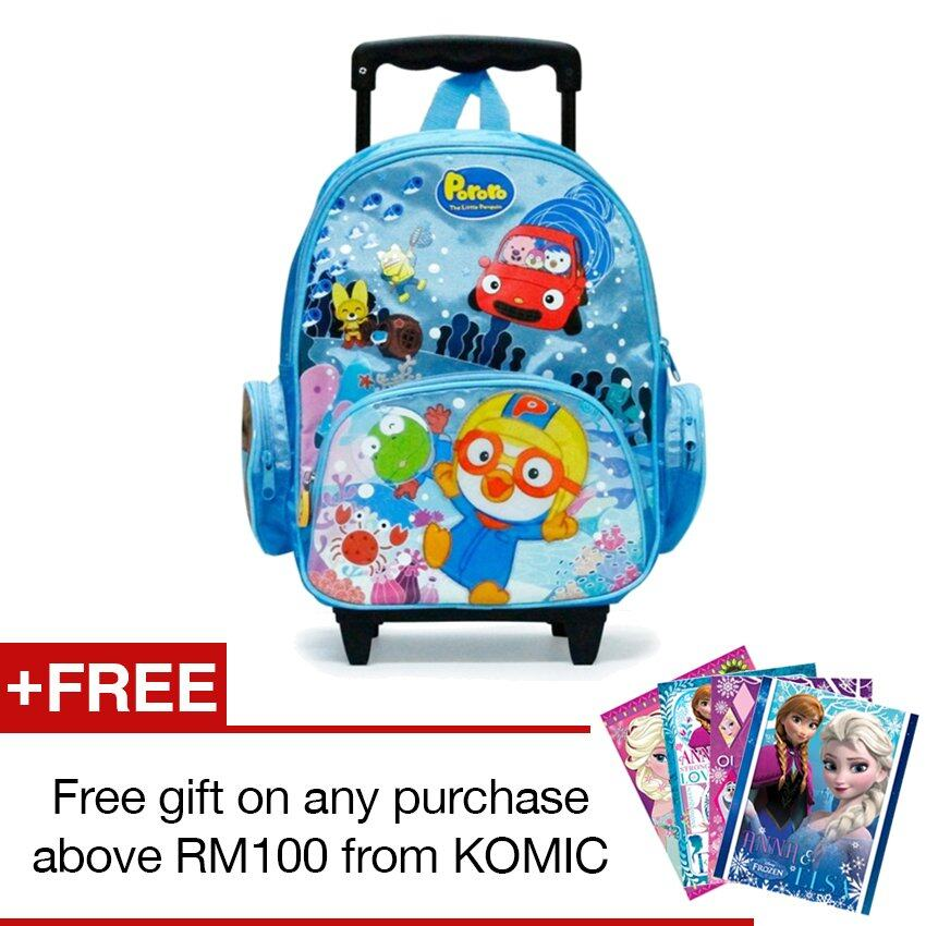Pororo Trolley Bag 14""