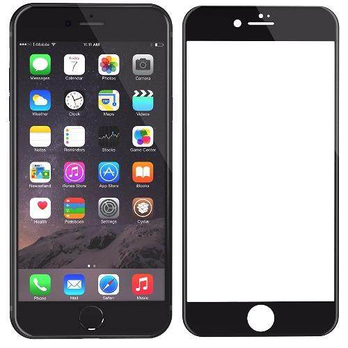 PREMIE Apple Iphone 7 Plus 3D Curved Full Screen Cover Tempered Glass Screen Protector (Black)