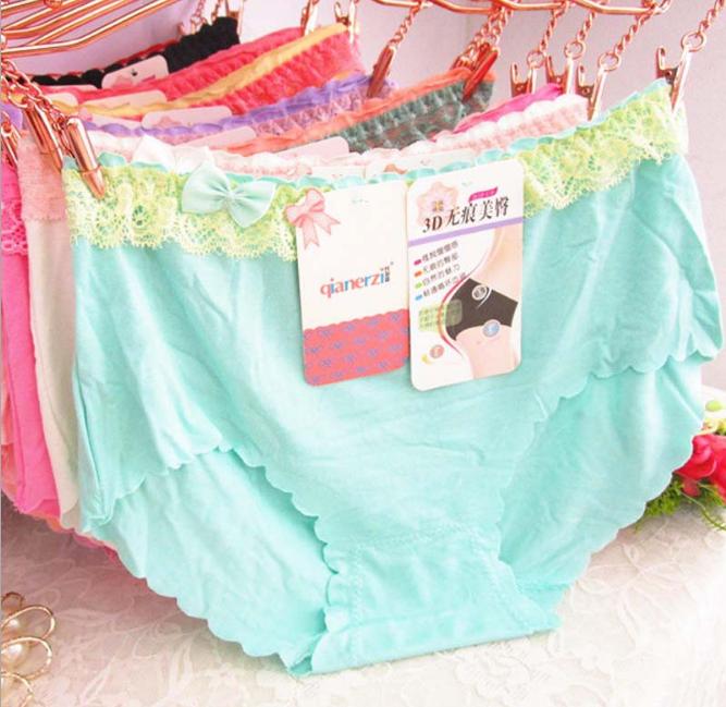 Set of 5pcs lace modal panties