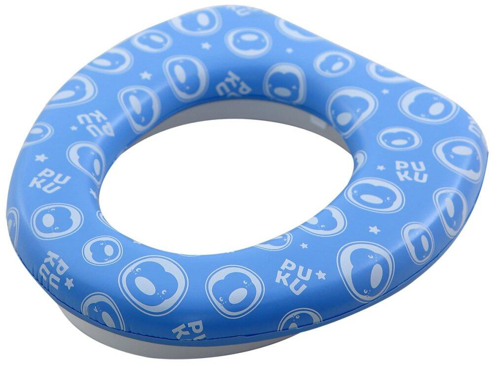 PUKU Baby Kids Toddler Soft Potty Toilet Padded Seat Cover 18 months+ / Blue P17409