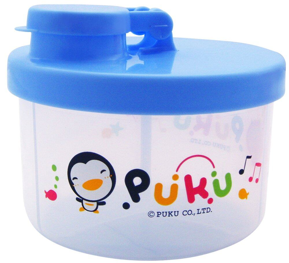 PUKU Baby Milk Powder Container Dispenser 100ml / Layer Blue
